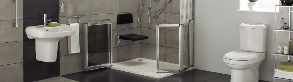 Wet rooms bathrooms and disabled access ramps for Disabled wet room bathroom design